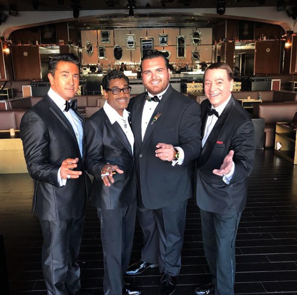 "Sal ""The Voice"" and the ""Rat Pack"""